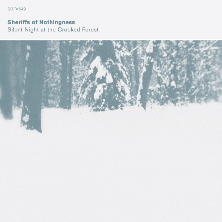 Silent Night at the Crooked Forest front cover
